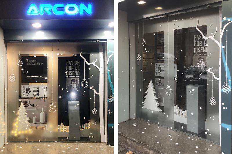 Escaparate Navidad ARCON