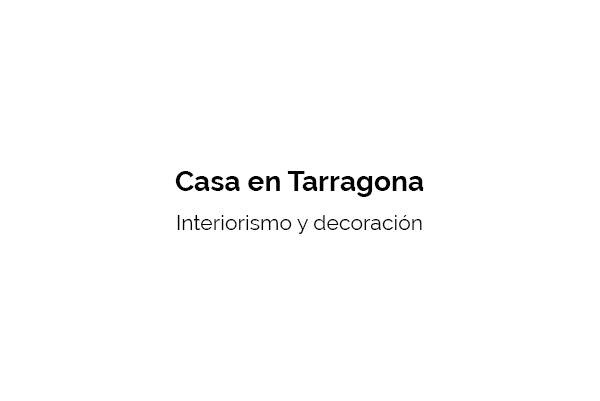 Tarragona interiorismo The Concept