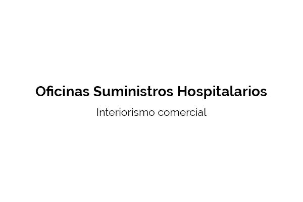 interiorismo Suministros Hospitalarios