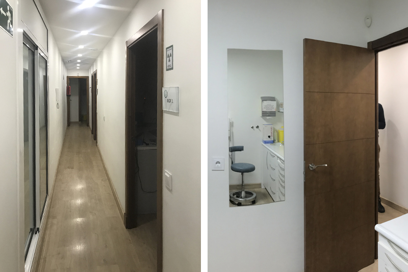 interiorismo-comercial clínica dental